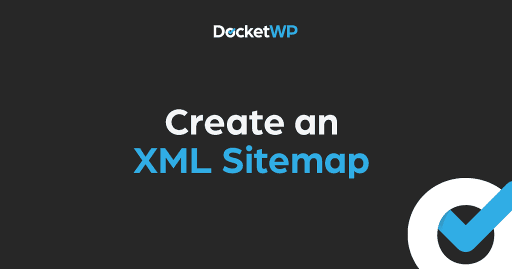 Create a XML Sitemap Featured Image 1