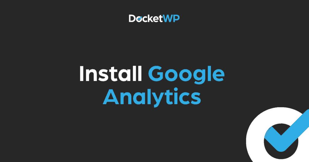 Install Google Analytics Featured Image 1