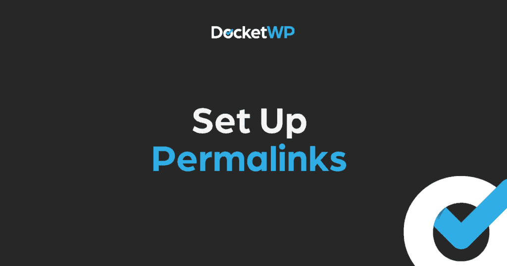 Set Up Permalinks Featured Image 1