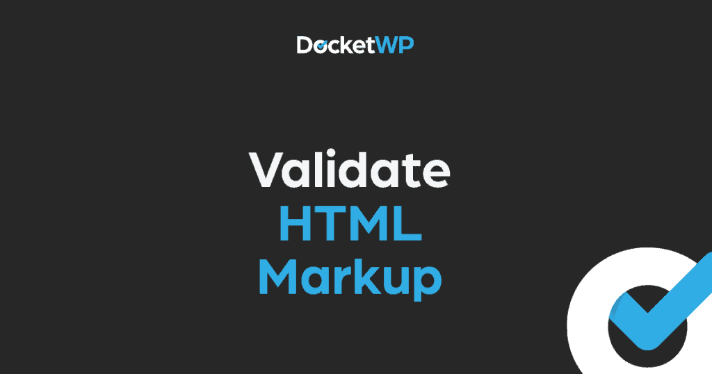 Validate HTML Markup Featured Image 1